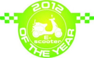 escooter of the year 2012